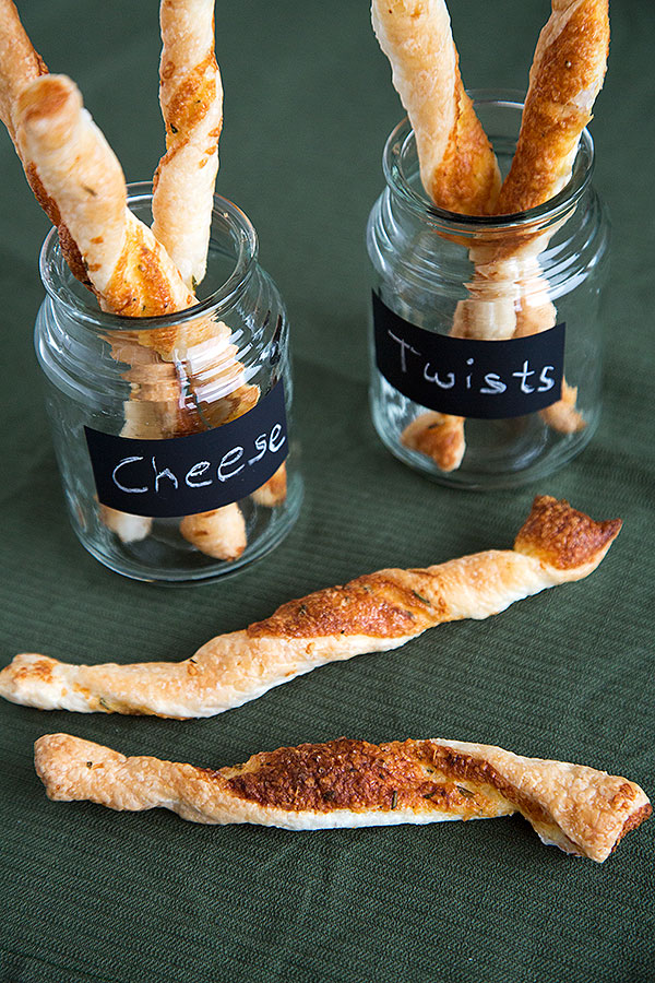 parmesan herb twists