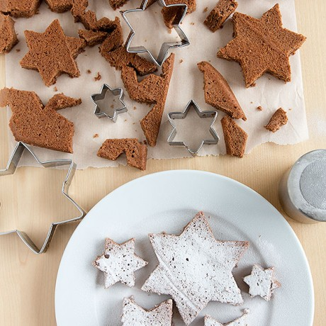 Advent Calendar Day 17 - Star brownies