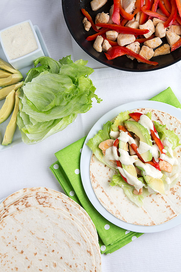 Chicken Avocado Wrap
