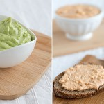 Liptauer & avocado – two curd cheese spreads
