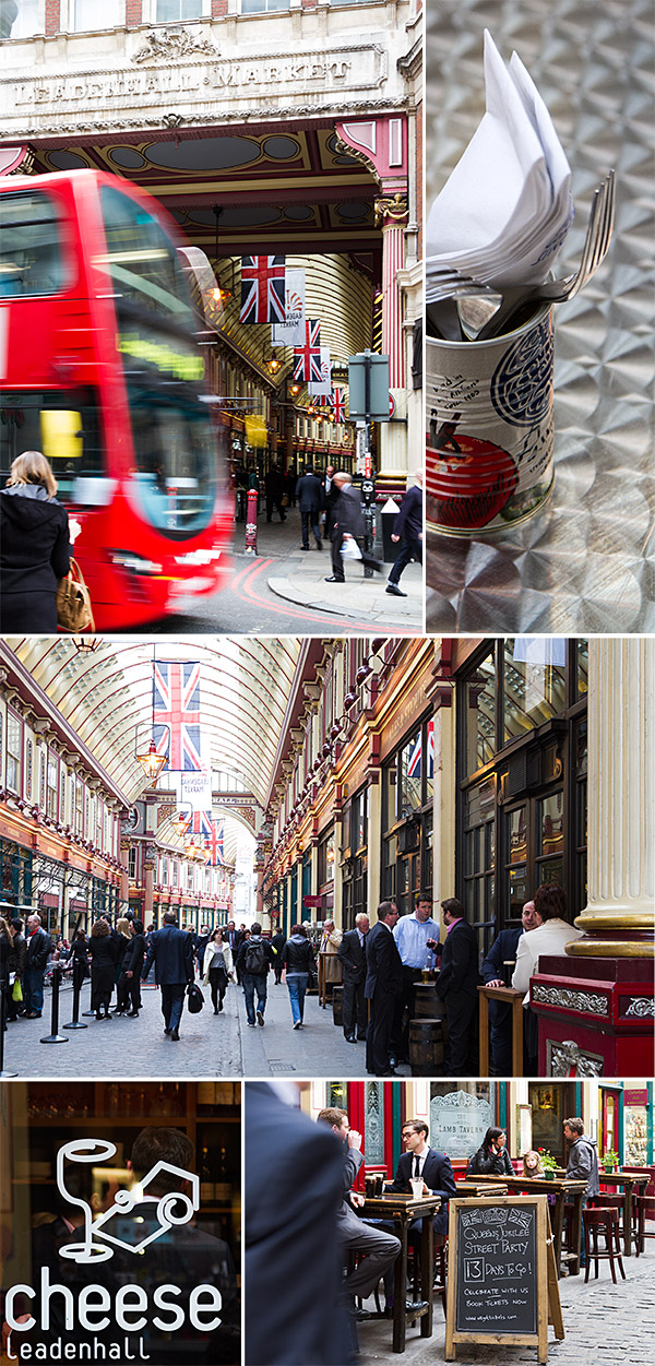 Leadenhall Market, London | www.strudelandcream.com
