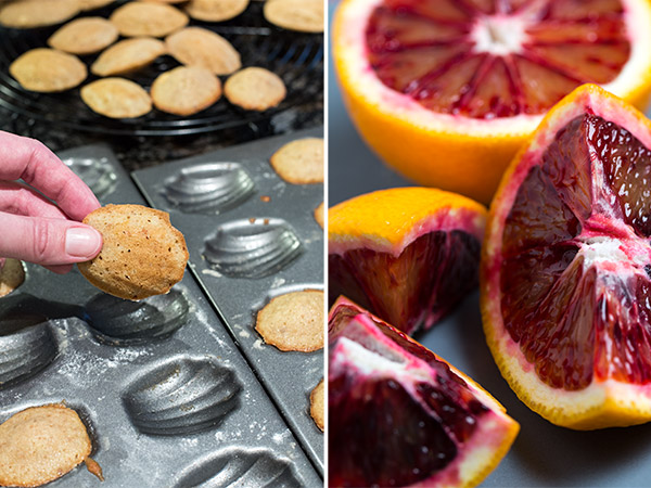 Blood-orange Madeleines with Cardamom and Walnuts - Strudel & Cream ...