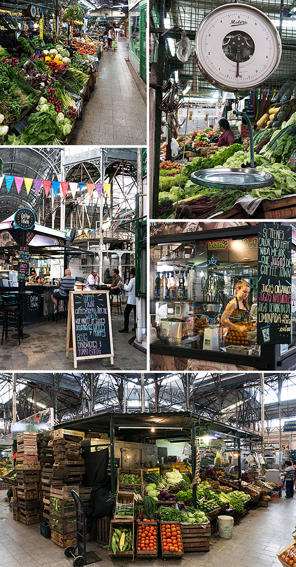 Mercado San Telmo - city food and antiques market, Buenos Aires | www.strudelandcream.com