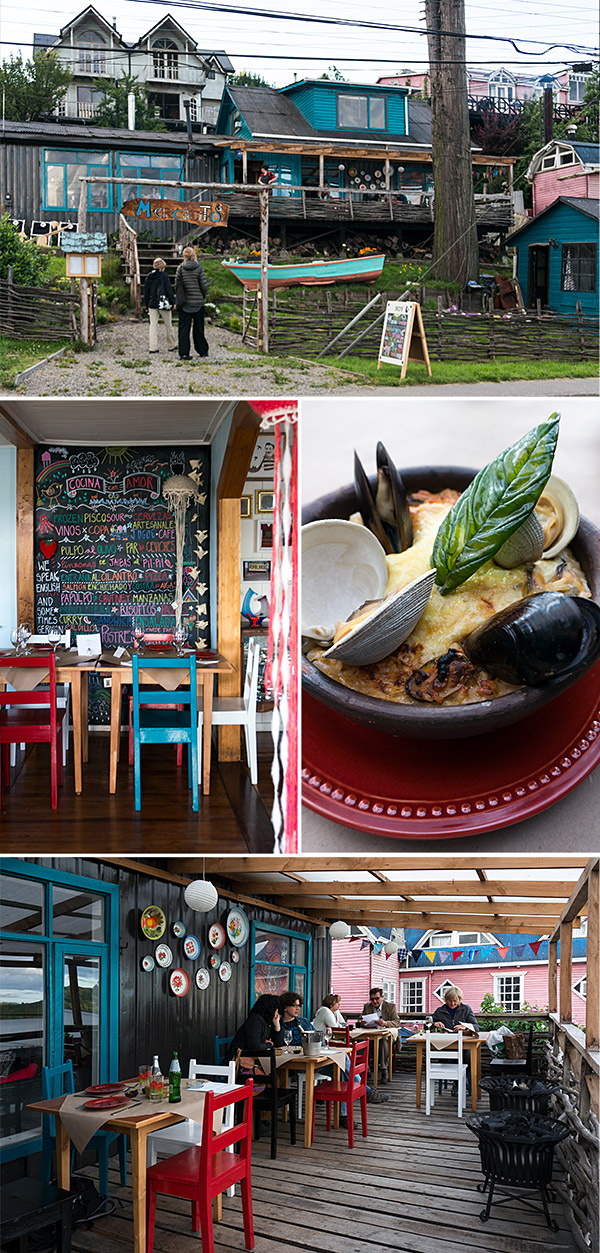 Mercadito Restaurant, Castro, Chiloe, Chile | www.strudelandcream.com