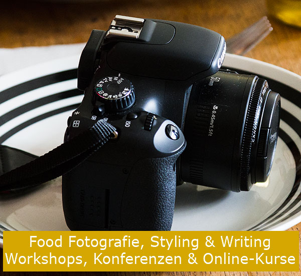Overview of Food Photography, Styling and Writing Workshops, Conferences & E-Courses around the World | @strudelandcream