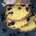 Lemon Blueberry Pound Cake | www.strudelandcream.com